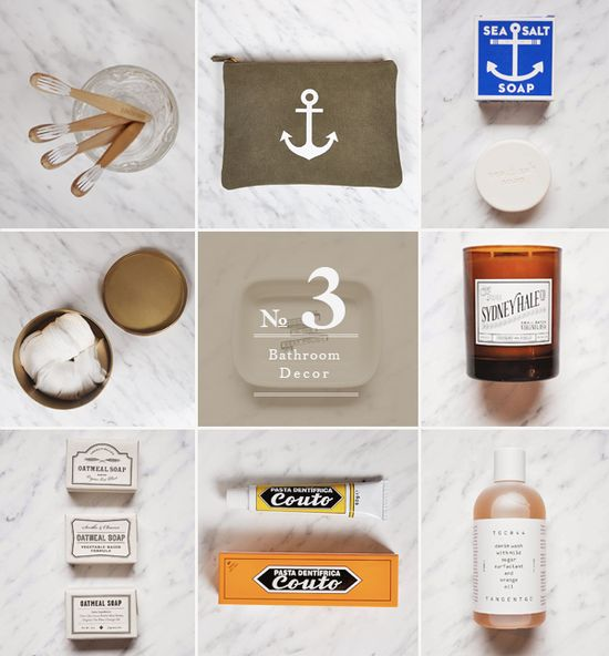 Christmas gift guide: Bathroom Decor. #bathroomdecor