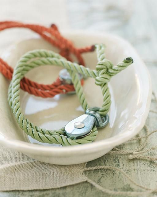 Sweet Paul's Cord & Pulley Bracelets DIY