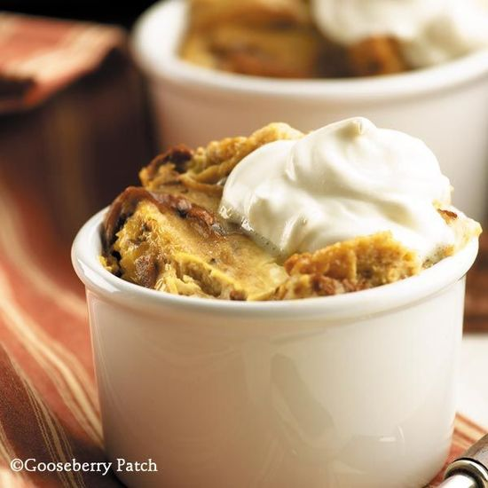 Country-Style Bread Pudding from 101 Slow-Cooker Recipes Cookbook by Gooseberry Patch.