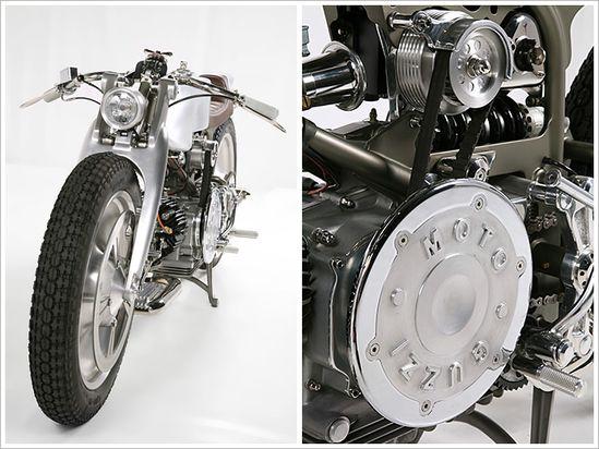 Moto Guzzi Nuovo Falcone - MedazaCycles