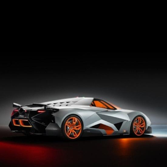 Lamborghini Egoista Concept Car Black: My Sport Car Collections: The Amazing Lamborghini Egoista