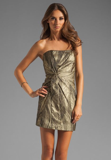 haute hippie gold dress 6 Party Dresses for Holiday Events