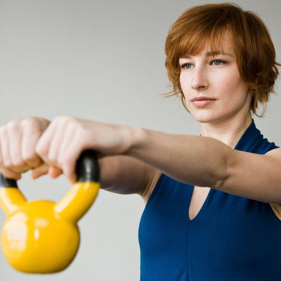 4 Kettlebell workouts - burn close to 300 calories in just 20 minutes!
