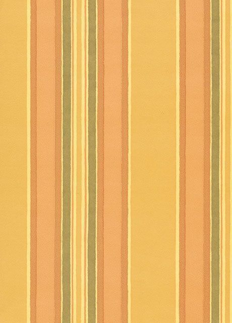 Clarence House Wallpaper Sorbonne Stripe- Yellow $172.99 price per roll #interiors #decor