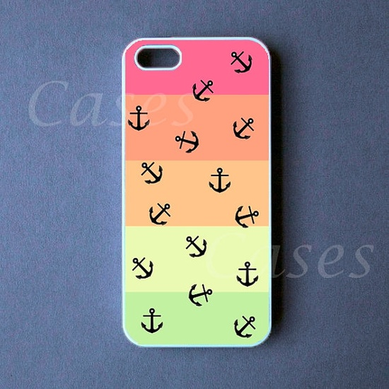 Iphone 5 Case  Tropical Anchors Iphone 5 Cover   PRE by DzinerCase, $16.99