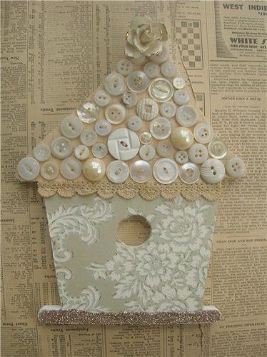 Button bird house