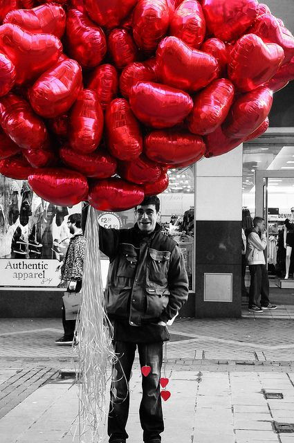 Happy Valentines Day, Love, Balloons