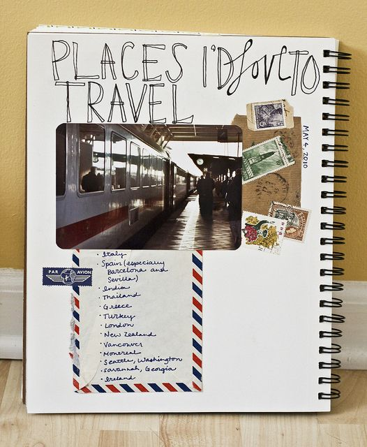 Tell Your Story - Travel List by Caitidid Designs, via Flickr