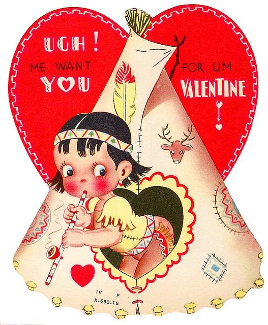 vintage valentine ?
