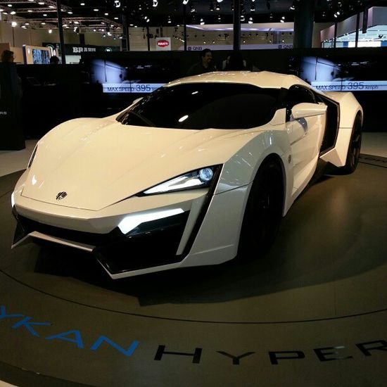 One of the most expensive Supercars in the World - The Lykan Hypercar