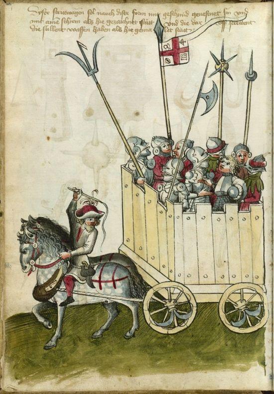 Besieging Castles From the Thott Manuscript