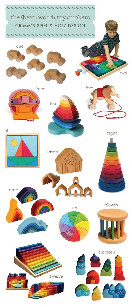 Grimm's-Spiel-&-Holz Wooden Toys