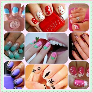 Nail Art, Nail Polish & Nail Art Design Tutorials  via www.grandmajuice.net