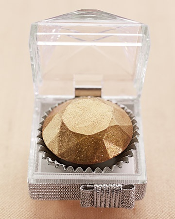 Wedding-Favor Ring Boxes with Truffles    For this gem of a favor, we nestled