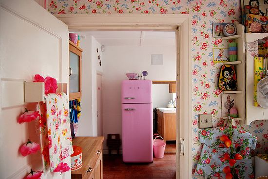 Country kitchen by Candy Pop, via Flickr