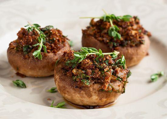 A great date-night recipe! Stuffed Mushrooms