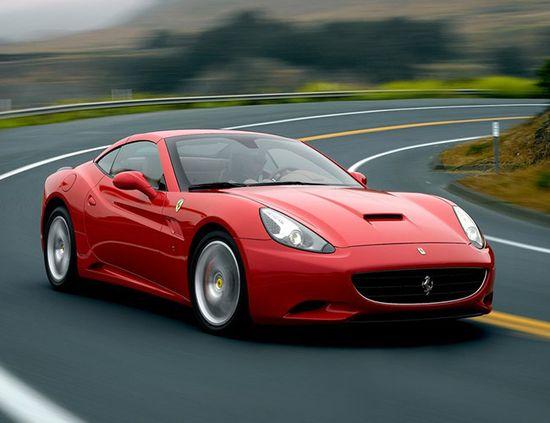 Ferrari California. The best car of 2012