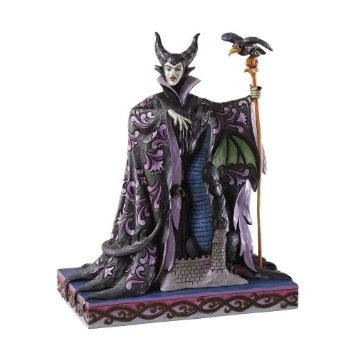 Amazon.com: Disney Traditions by Jim Shore Maleficent with Dragon Figurine, 10-Inch: Home & Kitchen