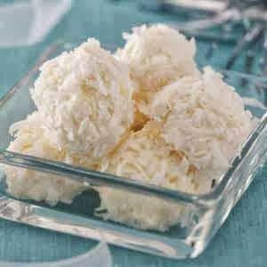 Pineapple Coconut Snowballs - These snowballs are cool, creamy and refreshing, a great not-too-sweet dessert