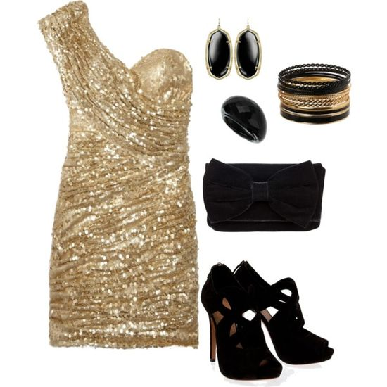 Black & Gold <3