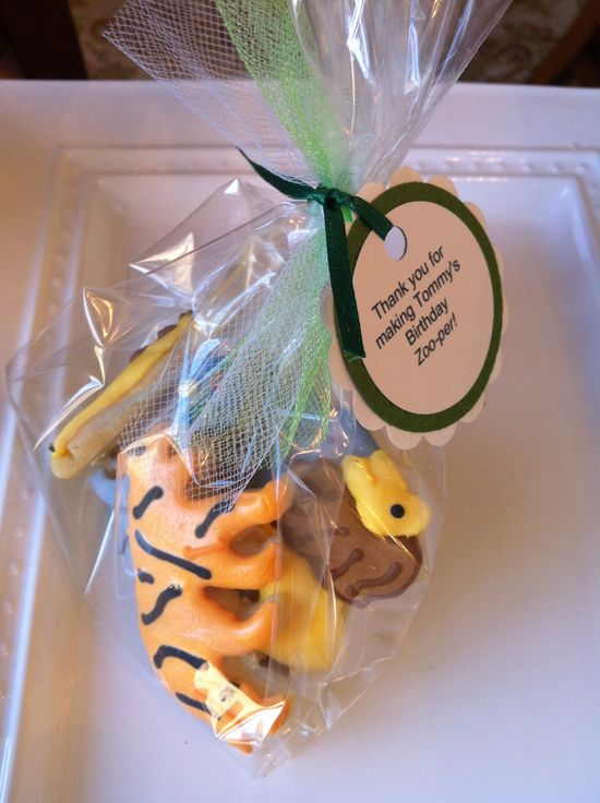 Zoo Animal Party Favors 3