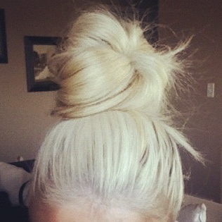 The perfect top knot!! ?