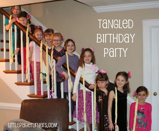 A Very Tangled Birthday Party