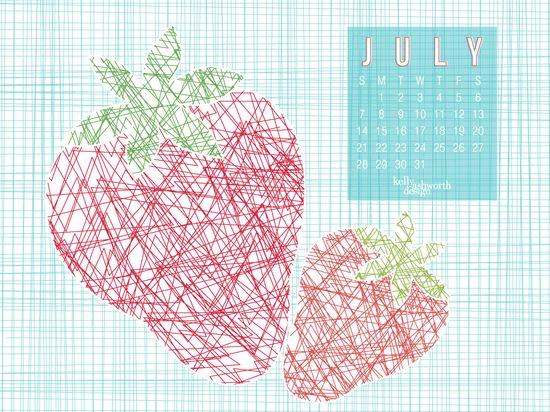 Desktop Wallpaper July 2013 via kellyashworth.com