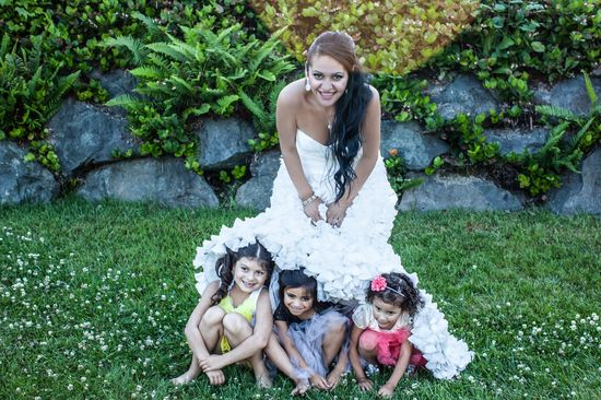 My beautiful Flower girls & I