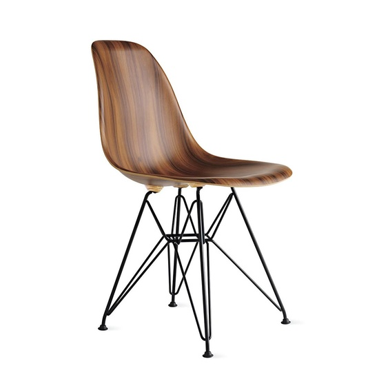 Eames Moulded Wood Side Chair (NEW) .