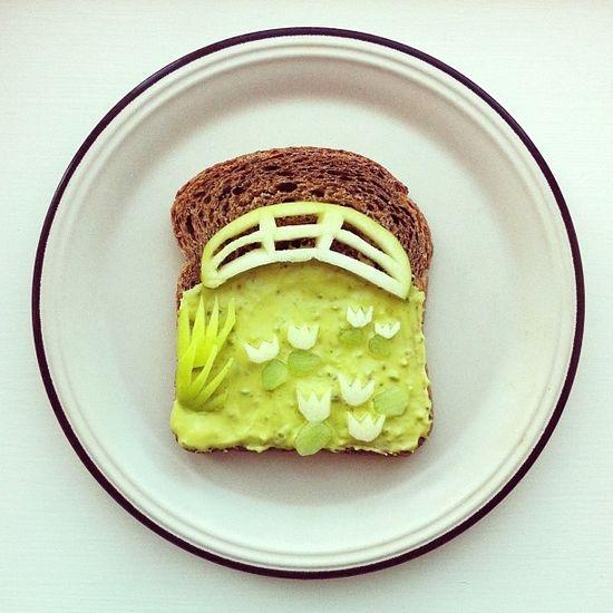 Monet Toast