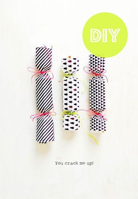 #DIY #Christmas crackers
