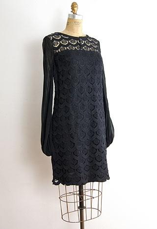 Mercier Curlicue Dress, 1960's