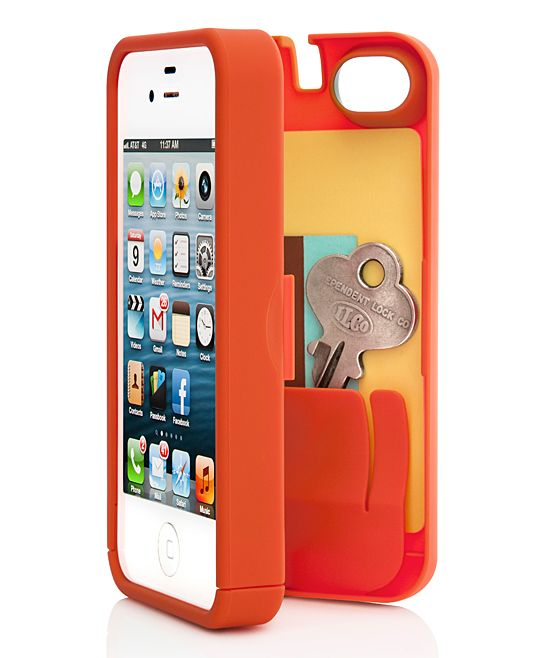 Orange Case for iPhone 5/5S $19.99 » I have this and  I love it. Great for the gym and running out, super handy! I would recommend this case.