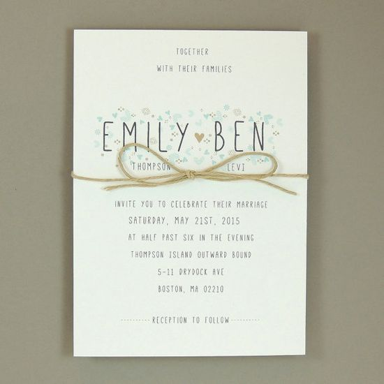 Emily Suite - Wedding Invitation