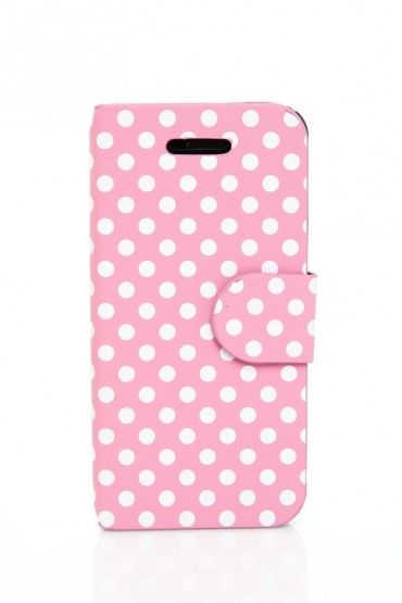 iPhone 5 Case with Magnetic Flap in Pink
