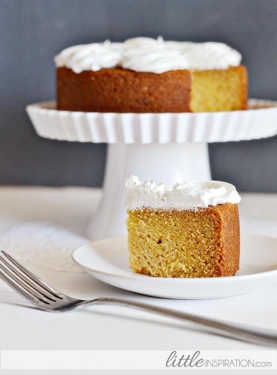 Pumpkin Spice Cake from Little Inspiration.