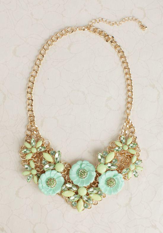 Monet's Garden Necklace