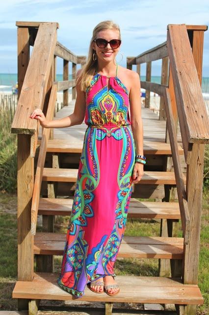 Love this maxi dress @Emily Schoenfeld Schoenfeld