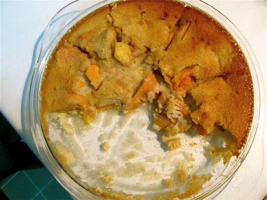 Healthy Dessert  - Mango Clafouti