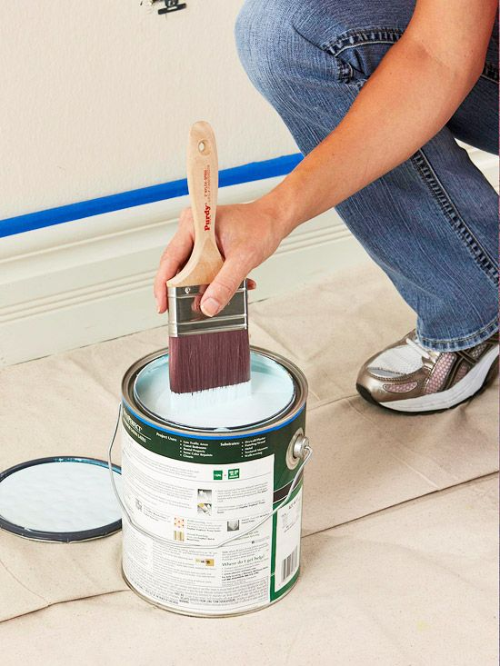 painting a room (step-by-step)