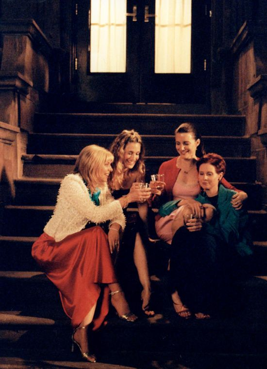 1998: Four best friends take to HBO, introducing us to the wild world of modelizers, fashion road kill and the impractical need for Manolo Blahnik strappy sandals. Styled by Patricia Field (with BGs own Betty Halbreich sometimes assisting), Sex & the City brought its unique world to millions of homes across the US, reminding us all that girls just want to have fun.  #TurnofStyle