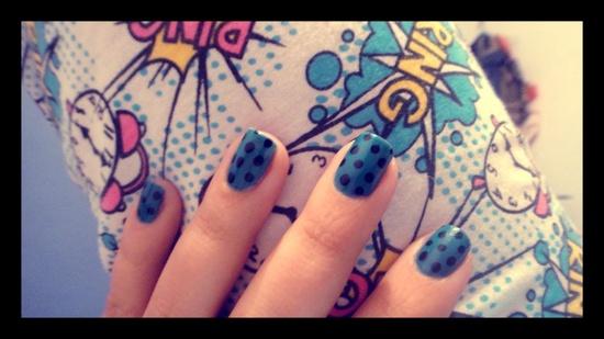 bang boom POW nails! :)_