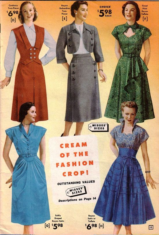 1950s catalogue image.