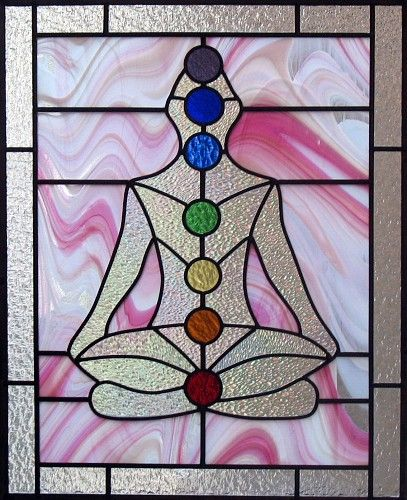 chakra stained glass
