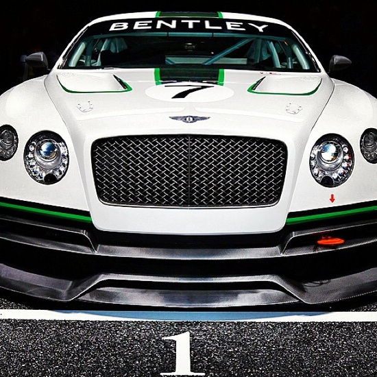 Bentley continental GT3 Concept 2012! now that's a beauty!