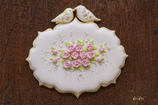 Shabby chick cookies, via Flickr.