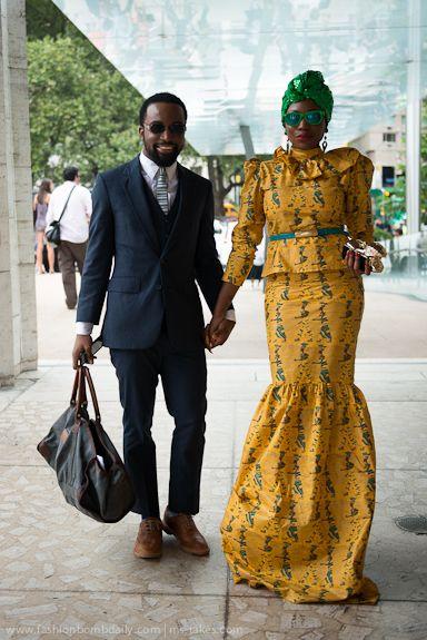 #nyfw african fashion
