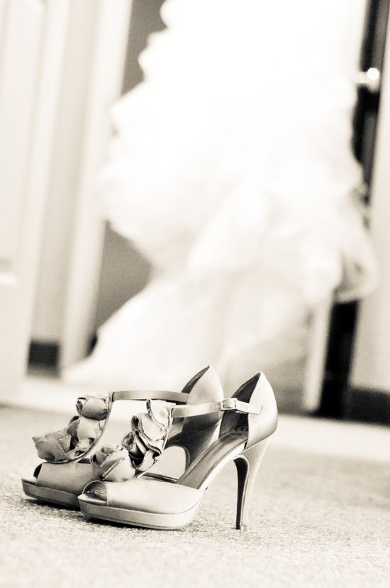My shoes and my dress