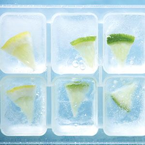 Decorated Ice Cubes